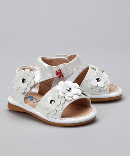 White Blossom Sandal