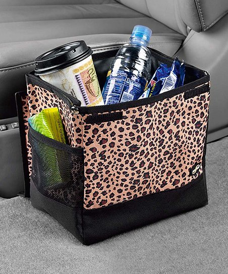 Leopard Floor Litter Bag