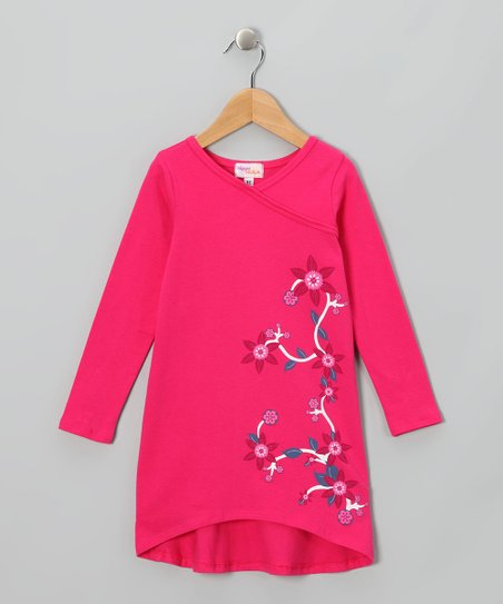Fuchsia Nanette Dress - Infant & Girls
