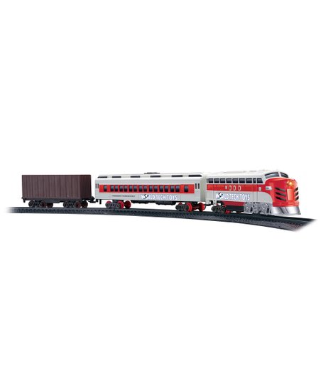 HobbyTron Electric Luxury Lights &amp; Sounds Train Set