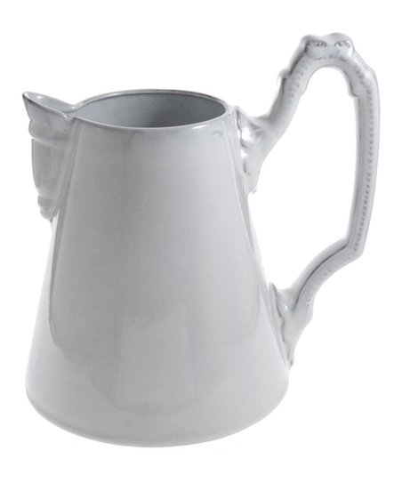 White Tribeca Straight Pitcher