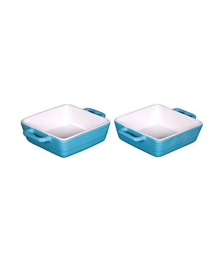 Blue Mini Baker - Set of Two