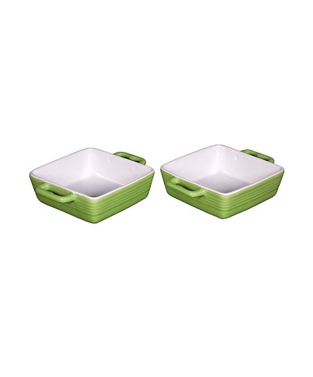 Green Mini Baker - Set of Two