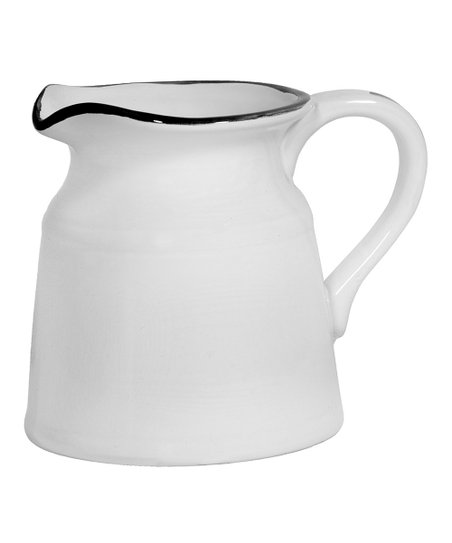 Home Essentials White Large Pitcher