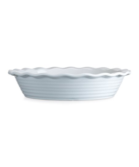 White Scallop 11.75'' Pie Dish