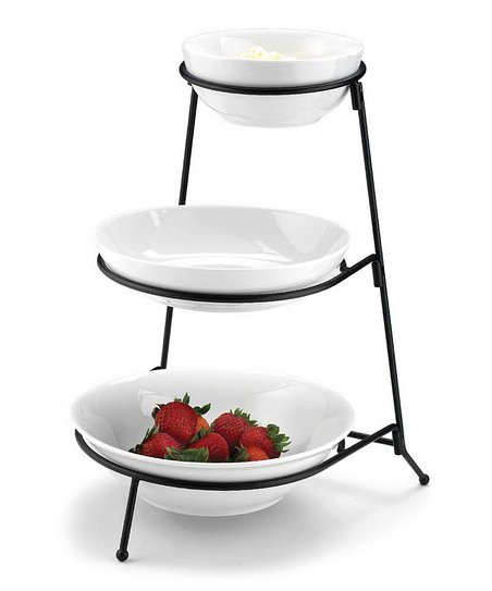 Home Essentials 3-Tier Round Bowl Set