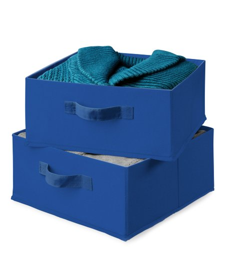 Blue Hanging Organizer Drawer - Set of Two