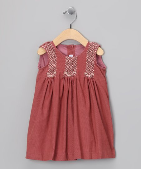 Orange Tatiana Dress - Infant