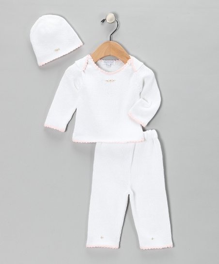 White Take Me Home Sweater Set - Infant
