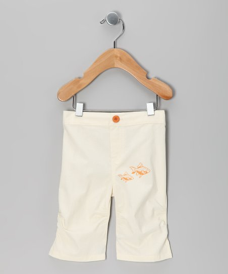 Sand Fish Bermuda Shorts - Infant & Toddler