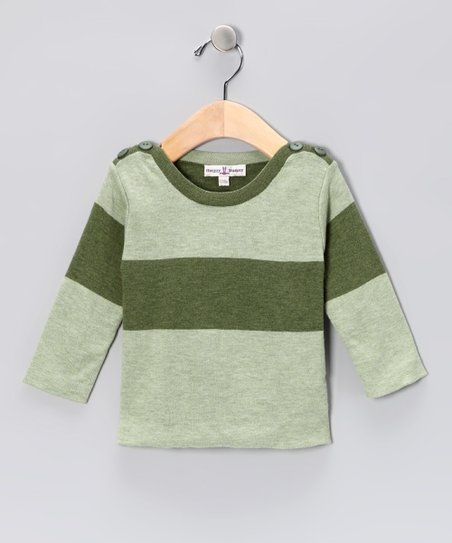 Grass Green Boatneck Tee - Infant &amp; Toddler