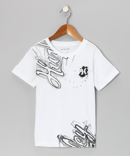 White Steady Tee - Toddler & Boys