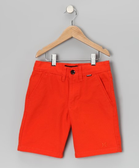 Orange One & Only Shorts - Boys