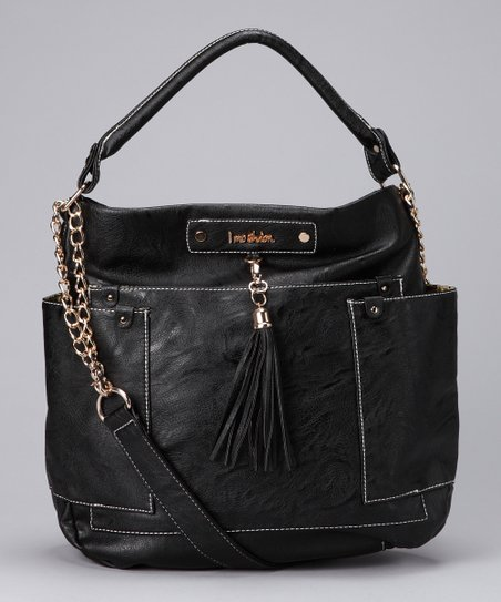 Black Estella Shoulder Bag