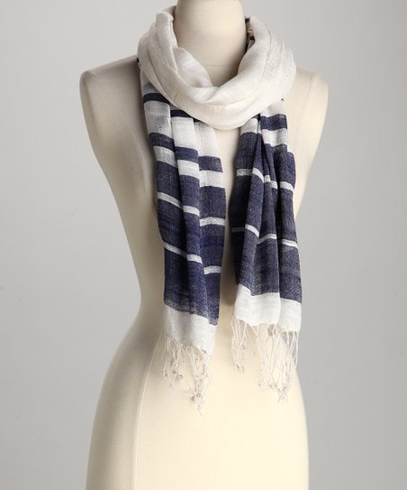 Blue Summer Scarf