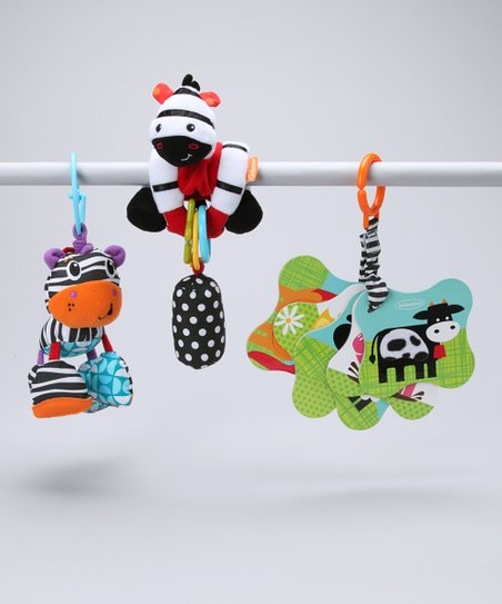 Zebra & Cow Learning Set