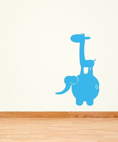 Blue Jungle Buddies Decal