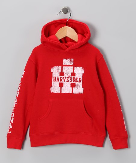 Red 'Harvester' Hoodie - Toddler
