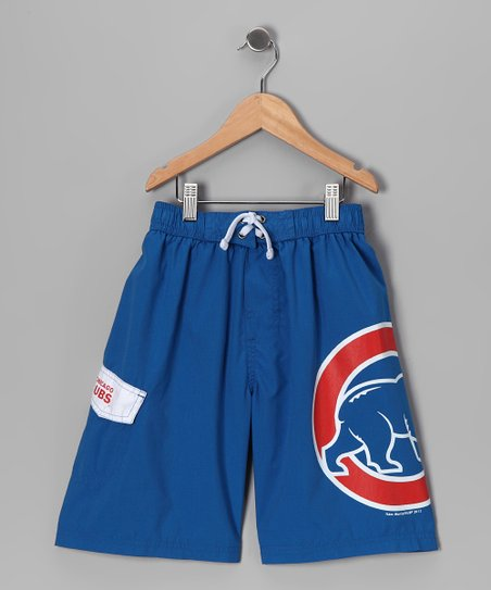 Chicago Cubs Swim Trunks - Boys