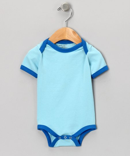 Blue & Royal Organic Bodysuit - Infant