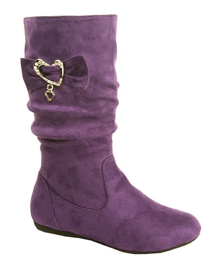Purple Nicki Boot