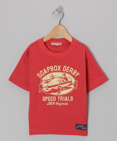 Ruby Red 'Soapbox Derby' Tee - Infant