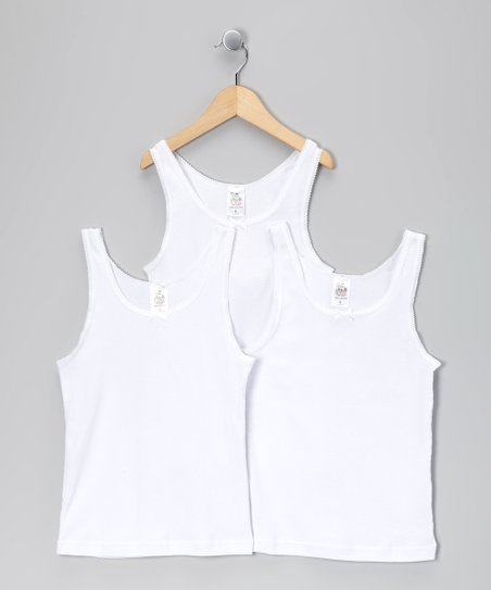 White Camisole Set - Toddler & Girls