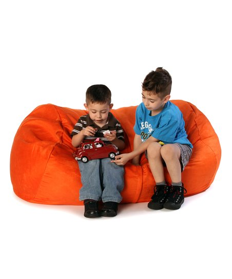 Orange Lounger Jr. Beanbag