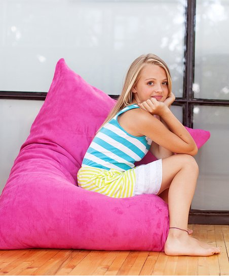 Fuchsia Pillowsak Jr. Beanbag