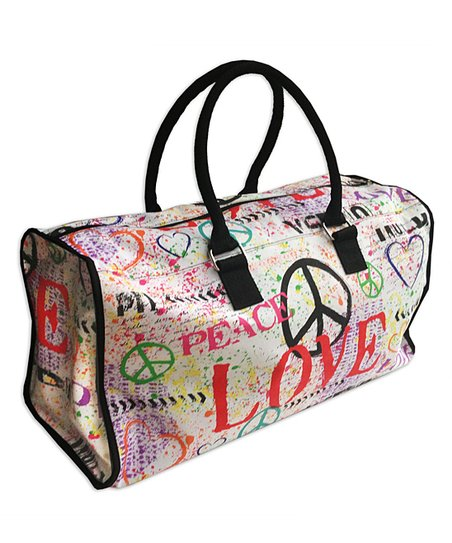 Love & Peace Louise Carey Weekender