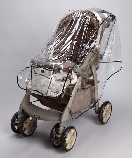 Clear Premium Stroller Weather Shield
