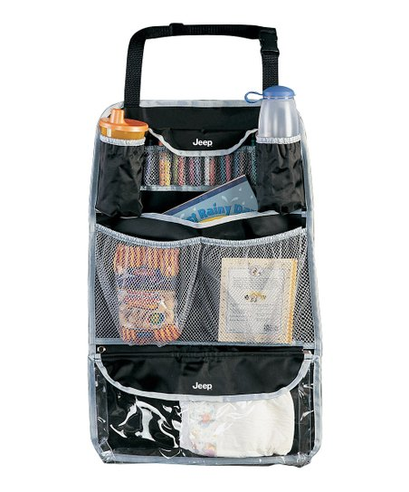 Black Backseat Organizer