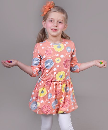 Periwinkle Umbrella Maggie Bubble Tunic - Infant