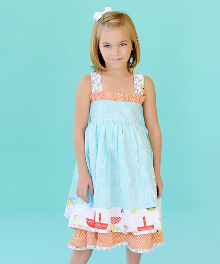 Jelly the Pug Opal Sassy Dress - Girls
