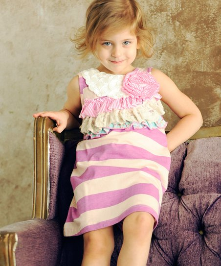 Pink Ruffle Ella Dress - Infant