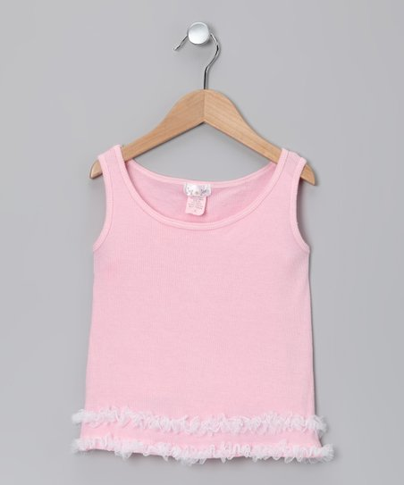 Pink Ruffle Tank - Infant, Toddler & Girls