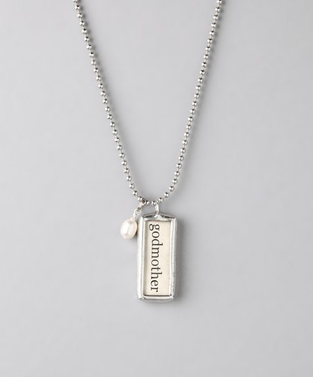 Silver 'Godmother' Soldered Necklace