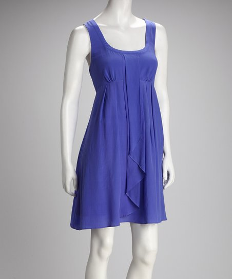 Jessica Simpson Blue Racerback Dress