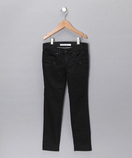 Black Tanya Skinny Jeans - Girls