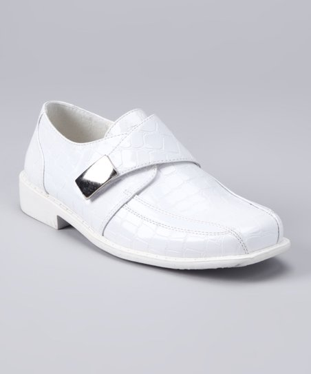 White Crocodile Shoe