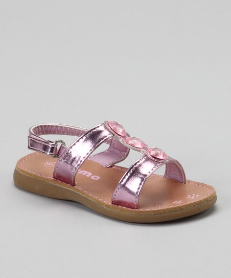 Pink Gemstone Sandal