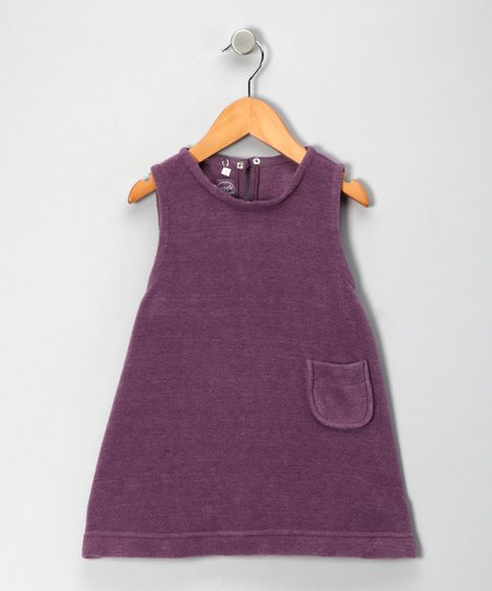 Purple Fleece Jumper - Toddler & Girls