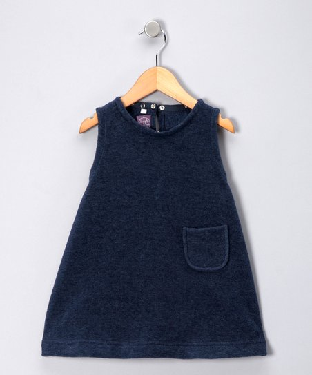 Navy Fleece Jumper - Toddler &amp; Girls