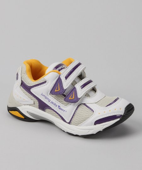 Purple & Gold Rachet Sneaker