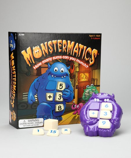 Monstermatics Game