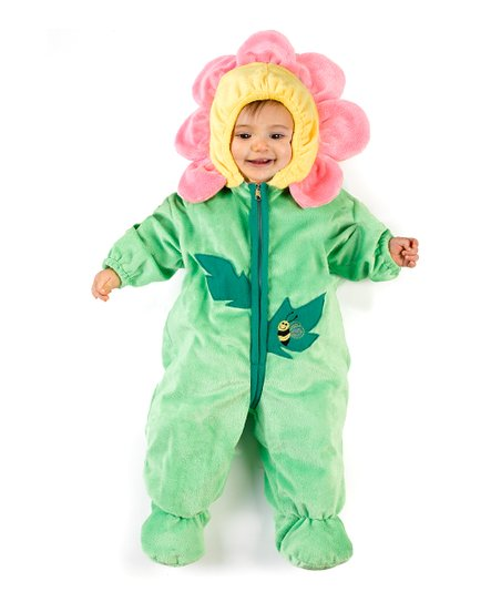 Green & Pink Carnation Dress-Up Outfit - Infant
