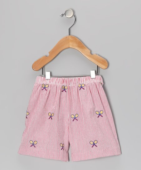 Red Racket Shorts - Infant, Toddler & Girls