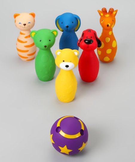 Colorful Bowling Friends Set