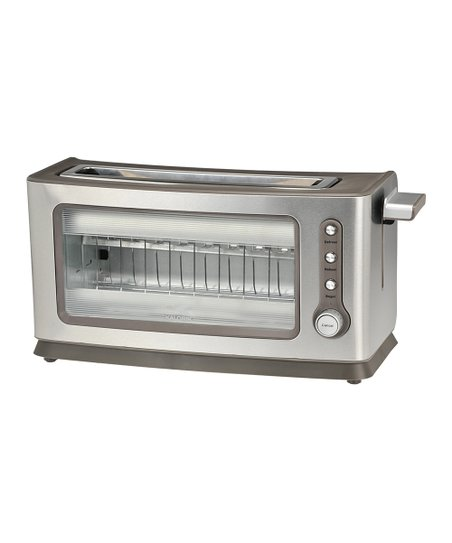 Transparent Glass Slide Toaster