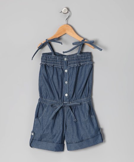 Blue Rummer Romper - Infant, Toddler & Girls